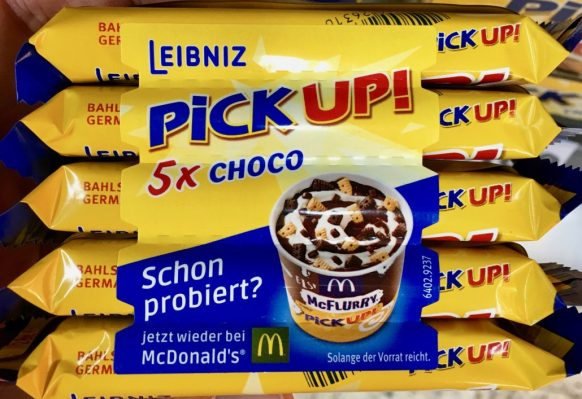 Bahlsen Pick up McDonalds Werbung