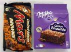Brownies von Mars und Milka