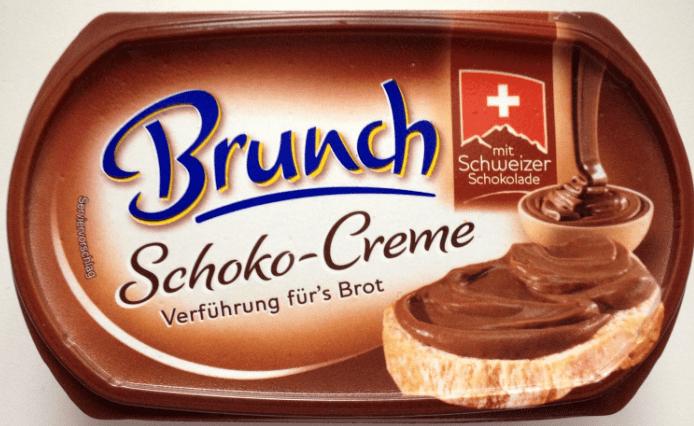 Brunch Frischkäse mit Schweizer Schoko-Creme.