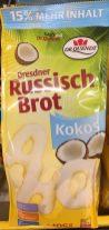 Dr Quendt Dresdner Russisch Brot mit Kokos