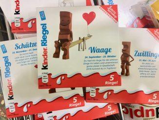 Ferrero Kinder Riegel Schokolade Sternzeichen