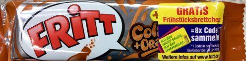 Fritt Cola Krüger Werbung Frühstücksbrettchen