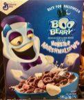 General Mills BooBerry Monser Marshmallows Halloween Vereals