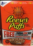 General Mills Reeses Puffs Sweet Crunchy Corn Puffs