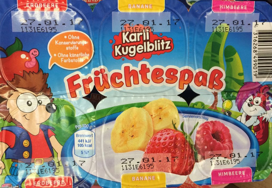 Karl Kugelblitz Früchtespaß