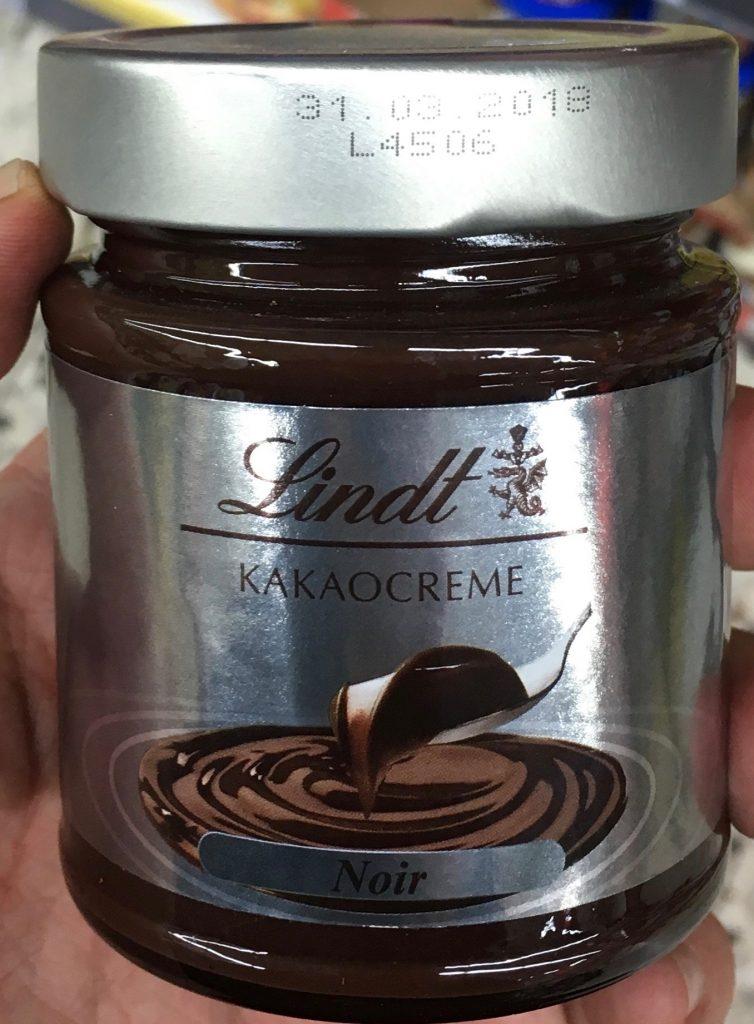 Lindt Kakaocreme Noir