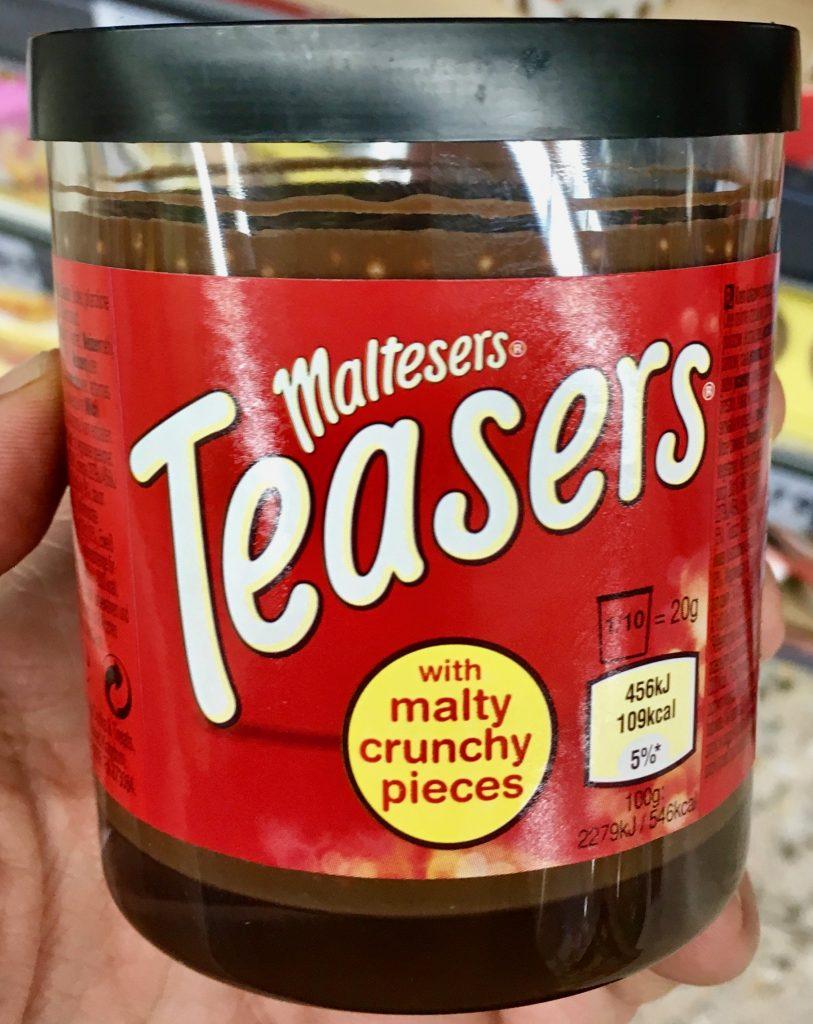 Maltesers Teasers Brotauftrich