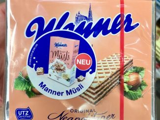 Manner Neapolitaner Werbung Manner Müsli