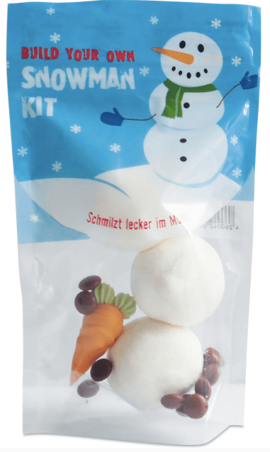 Marshmallows Snowman Kit