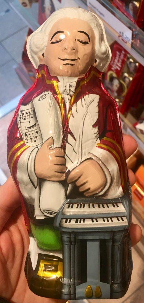 Mozart Hohlfigur von Heindl