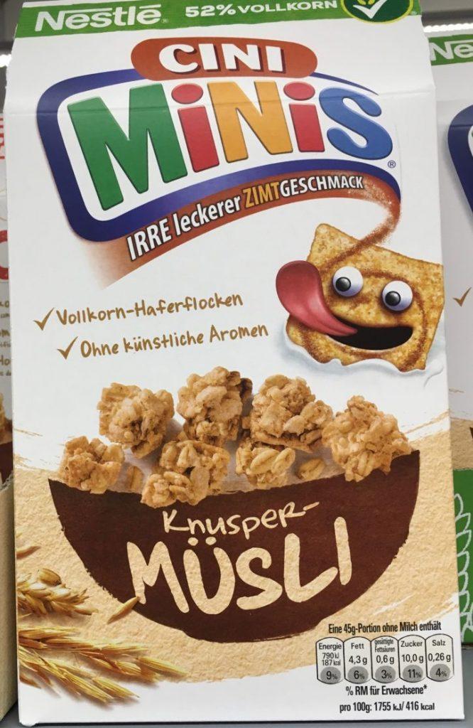 Nestle Cini Minis Müsli