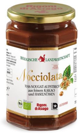 Nocciolata (Bio) wurde von Stiftung Warentest beim letzten Test mit mangelhaft bewertet, da Schadstoffe darin gefunden wurden.