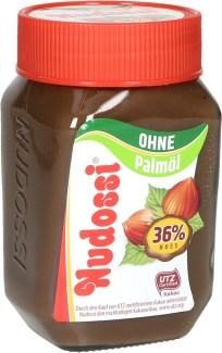 Nudossi Nuss-Nougat Creme ohne Palmoel 300Gramm