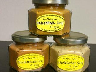 Scharfer Senf Senf Salon