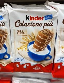 Ferrero Kinder Colazione piu con 5 Cereal 10er Brioss