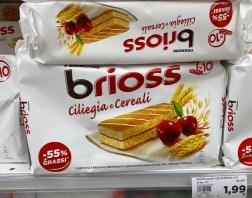 Ferrero brioss ciliegia e cereali Kirsch -55% Fett 10er