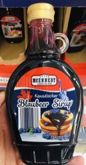 Lidl MCennedy Kanadischer Blaubeer Sirup 250 ml