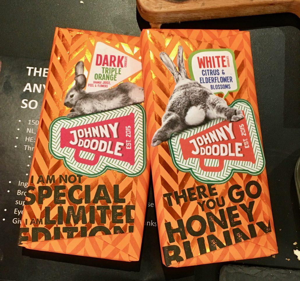 Johnny Doodle Dark Triple Orange White Citrus Elderflower