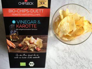 MyChipsbox Bio-Chips-Duett Vinegar Karotte