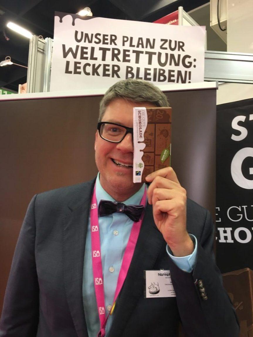 Oliver Numrich naschkater die gute Schokolade ISM 2017