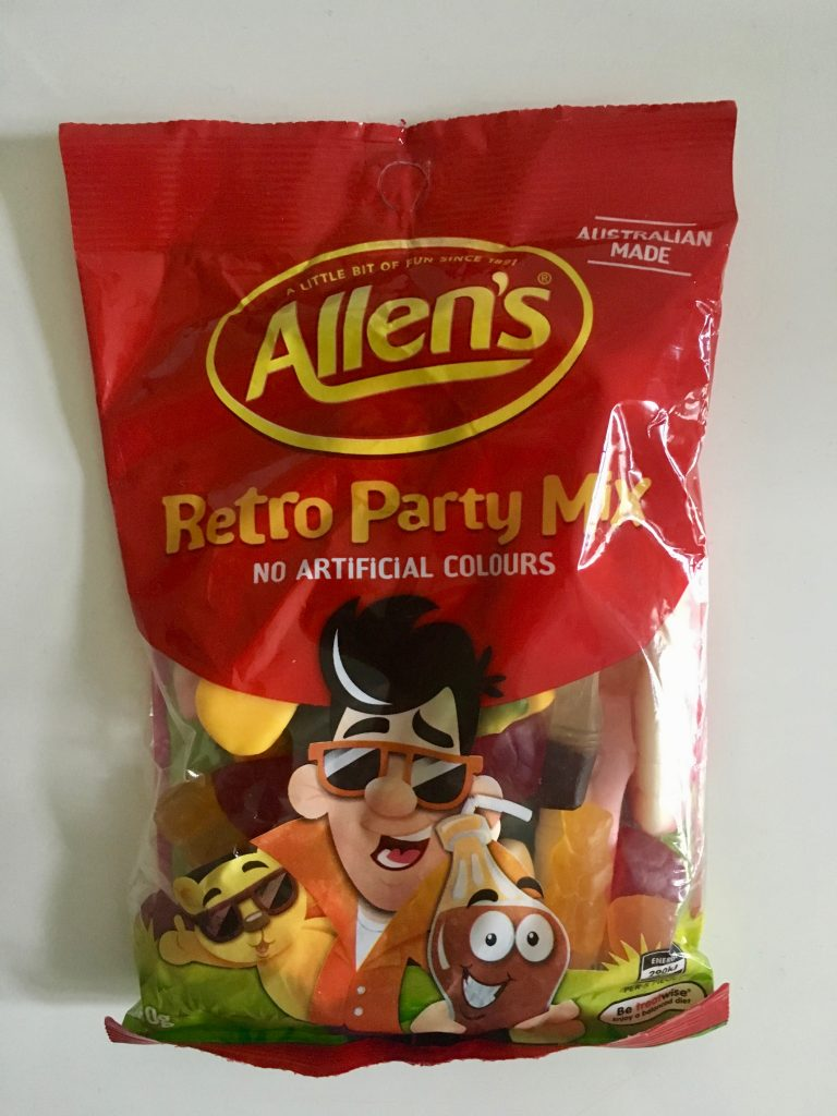 Nestlé Allens Retro Party Mix Weingummi