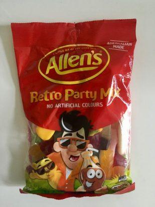 Nestlé Allens Retro Party Mix Weingummi