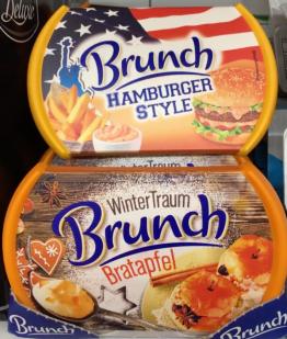 Brunch Hamburger Style und Bratapfel