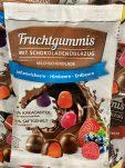 Fruchtgummies mit Schokoladenüberzug