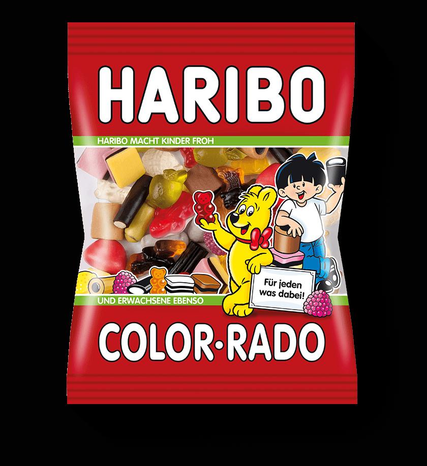 Haribo Color-Rado Lakritz-Mischung
