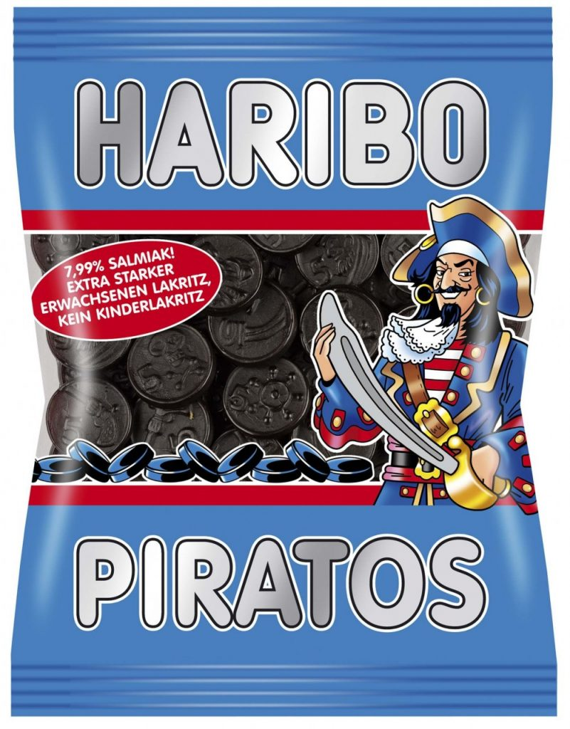 Haribo Piratos Negertaler
