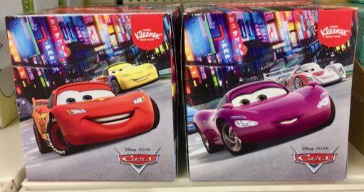 Kleenex Taschentücher Cars