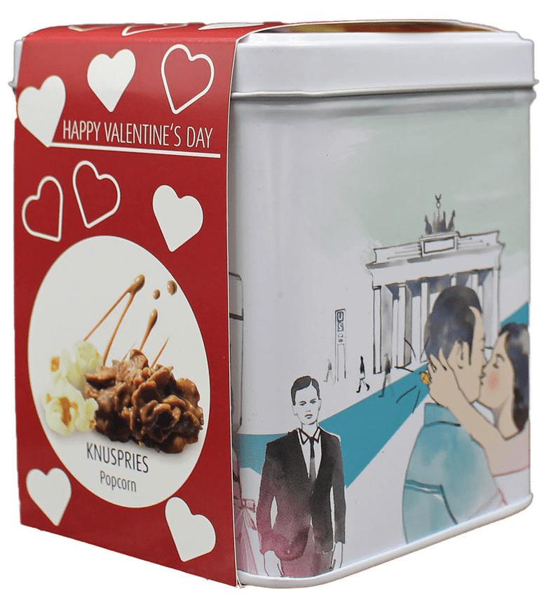 Knusperies Popcorn Schmuckdose Höflich Geschenkdose Berlin