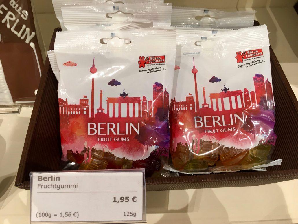 Berliner Gummibärchenmischung von der Bären-Company