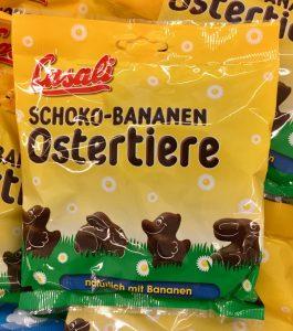 Casali Schoko-Bananen Ostertiere