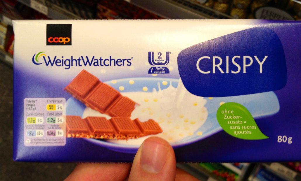 Coop SChweiz Diät- Schokolade