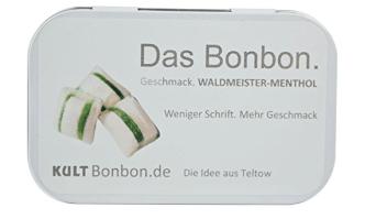 Das Bonbon Kült Waldmeister-Menthol