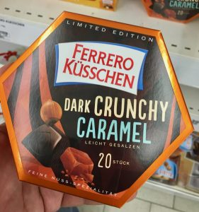 Ferrero Küsschen Dark Crunchy Caramel leicht gesalzen