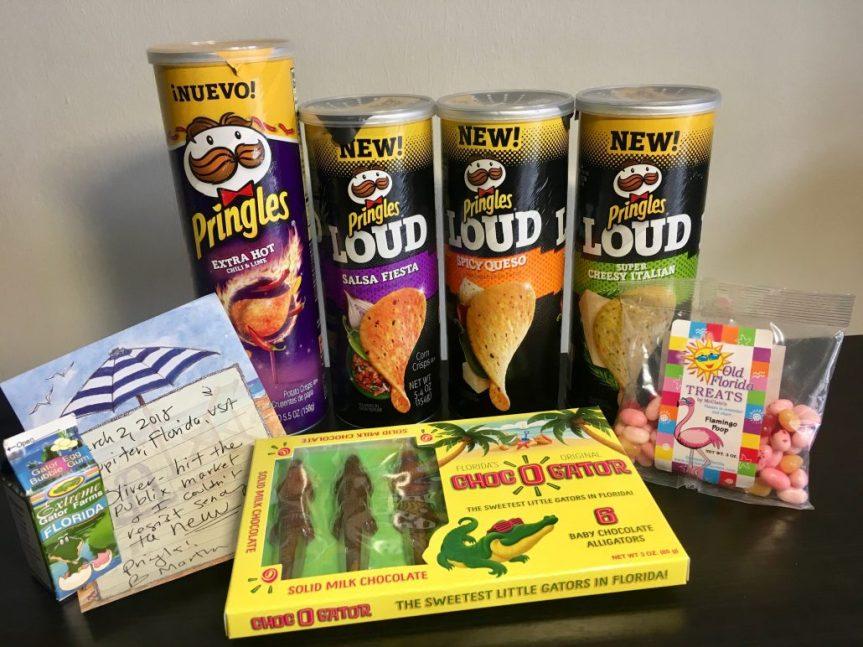 Freudige Überraschung aus Florida: Pringles & Candy