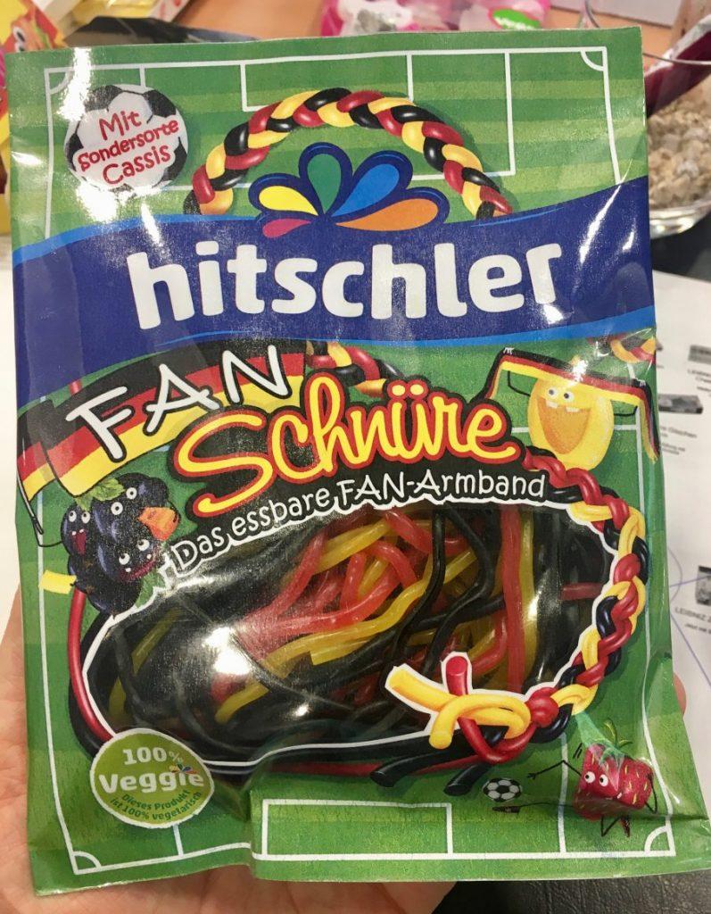 hitschler Fan-Schnüre schwarz-rot-gold WM 2018