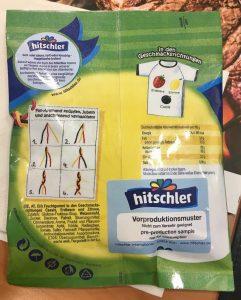 hitschler Fan-Schnüre Rückseite
