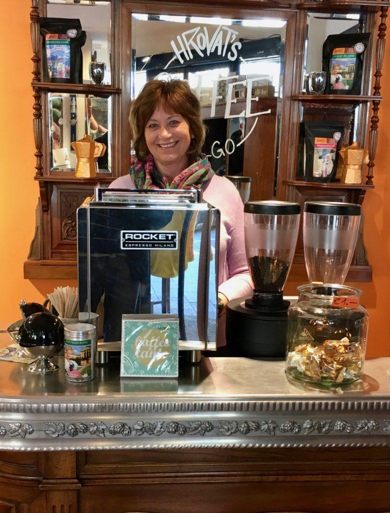 Hrovat's Kaffeetresen Maria Druckenthaner