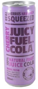 Juicy Fuel Cola Real Cherries have been squeezed