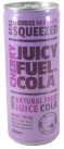 Juicy Fuel Cola Real Cherries have been squeezed