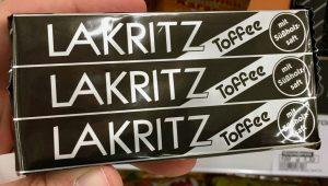 Lakritz-Toffee