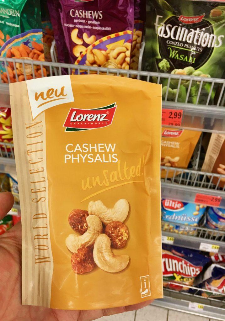 Lorenz Cashew Physalis unsalted