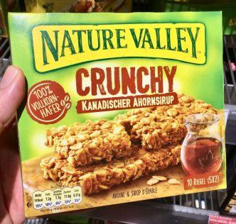 General Mills Nature Valley Crunchy Kanadischer Ahornsirup