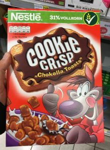 Nestle Cookie Crisp Chokella Toasts