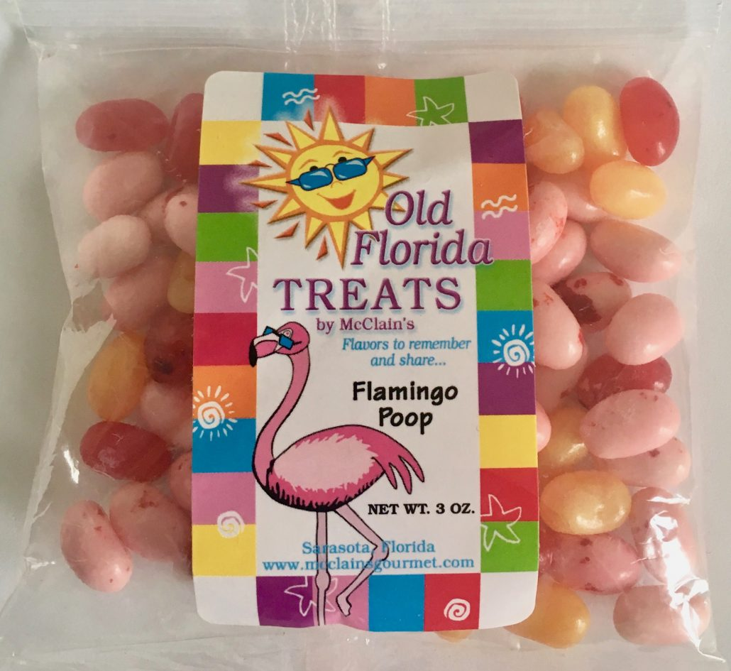 Old Florida Treats Jelly Belly Beans Flamingo Poop