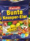 Panuli Bunte Knusper-Eier mit Milchschokolade