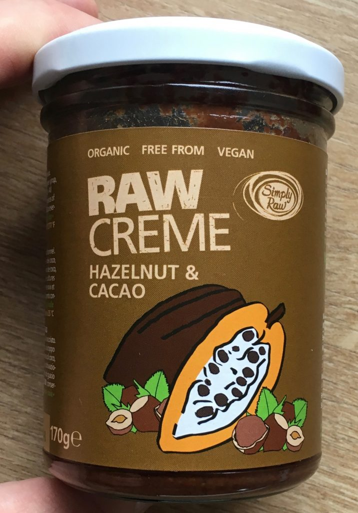 Raw Creme Hazelnut und Cacao Simply Raw